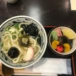 銀座 若松 - 料理写真:うどんセット(1350円)
