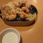 道頓堀クラフトビア醸造所 - 鶏もも唐揚 タルタルソース