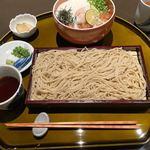 生そば 清助 - 真鯛の胡麻たれ利休丼十割蕎麦セット 2,090円