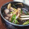 ひびき庵 - 料理写真:鴨汁(かもじる)の牛蒡(うまふゞき)など