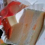 銀座コージーコーナー - プリンケーキとナポレオンパイ