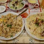 ムンバイキッチン - チャーハンとビリヤニの食べ比べ