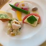 ラ・ベットラ・ペル・トゥッティ - 生パスタコース 前菜