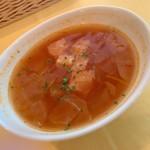 116676709 - 生パスタコース スープ