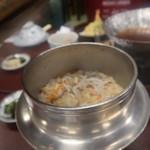 花山温泉 薬師の湯 - 料理写真:じゃこめし
