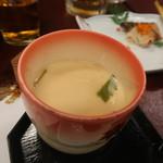 花山温泉 薬師の湯 - 料理写真:茶わん蒸し