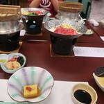 花山温泉 薬師の湯 - 料理写真:宴会コースセット
