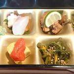 てんぷら酒場 純 - 海老天とかき揚げ定食♪