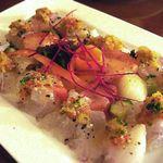 GiGi - 料理写真:スズキのカルパッチョ