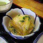 朝日館 - ベーコンと白菜を重ねて煮込んで・・・何ていったっけ??