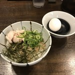 麺屋 銀星 海美風 - 煮干し香る贅沢卵かけご飯セット