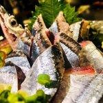 Dining kaze 池袋の風 - 秋刀魚のお刺身