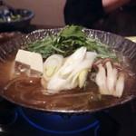 Tokkuri - うなぎつゆしゃぶ鍋(1850円)(2019年9月)