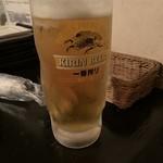 和みだいにんぐ 亜蔵 - 生ビール