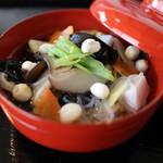 志ぐれ亭 - こづゆ (要予約) 郷土料理のこづゆは特別な日に食された会津のおもてなし料理