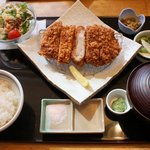 11669085 - 那須豚「七福ロースかつ定食」