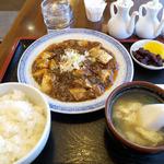 天龍 - 麻婆豆腐ランチ800円