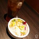RSM - 料理写真:ソフトドリンク&サラダ