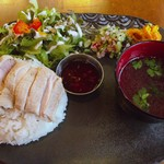 Cafe ポカラ - カオマンガイ