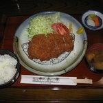 養気亭 - ロースかつ定食1,200円