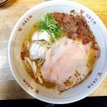 福島壱麺 - 名残ハモと走り松茸の白露らーめん
