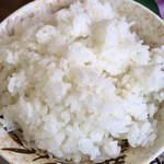 はるみ - ご飯(大盛り無料)