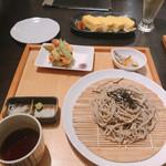 和ノ実 - ざる蕎麦 かき揚げセット