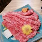 島しゃぶ屋 豚とん拍子 - アグー豚のすき焼き(追加)