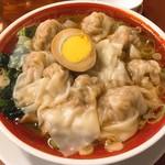 116709912 - 広州雲呑麺・醤油(税抜740円)