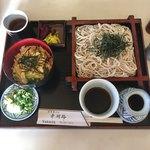 自家製そば 幸湖路 - 料理写真:日替り定食  ¥810