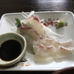 むちゃく - 真鯛の刺身