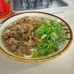 小郡駅弁当 - 料理写真:肉うどん[¥480] ('19年・8月)