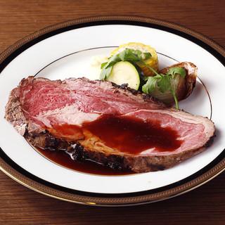 【2時間飲み放題付き】麦黒牛ローストビーフコース5,000円