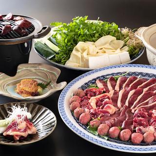 【冬の名物!】鴨鍋…2900~13200円