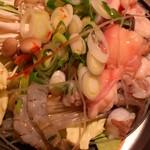 福亭 - ナコプセ鍋~調理前~
