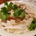 青龍門 - 鶏肉飯(小)