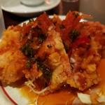 青龍門 - 油淋鶏(ランチセット)