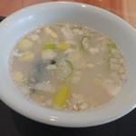 龍ー吟 - ◎スープ