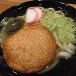 食楽茶屋 舎利蔵 - 九州 八木山うどん使用の「薩摩天うどん」2