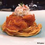 リナシメント - タヤリン ズワイガニのトマトソース