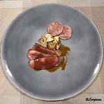 リナシメント - 青森 銀の鴨 胸肉のAl forno