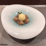 リナシメント - 白桃のComposta&Fior di latte