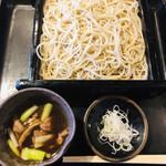 薮伊豆 - 料理写真:鴨汁せいろそば