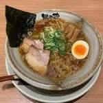 越後秘蔵麺 無尽蔵 - 鶏がら醤油らーめん 細麺