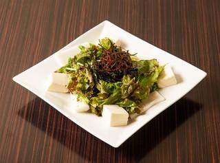 もつ鍋田しゅう - チョレギサラダ