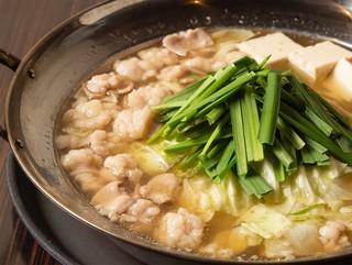 もつ鍋田しゅう - もつ鍋 水炊き風