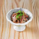 学芸大学前 肉寿司 - 砂肝ペッパー