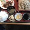 地蔵 - 料理写真:一口カツセット970円、ご飯大盛り110円!