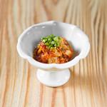 学芸大学前 肉寿司 - 生肉キムチ