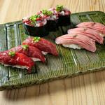 学芸大学前 肉寿司 - 福来る盛り合わせ